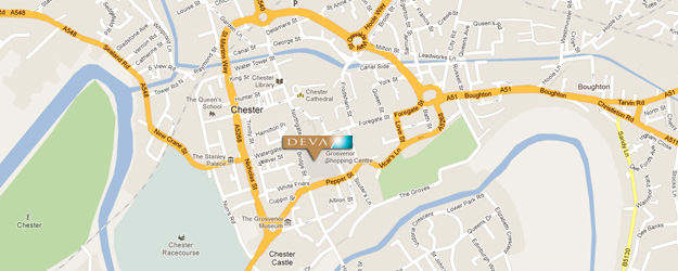Deva Travel, Chester Location